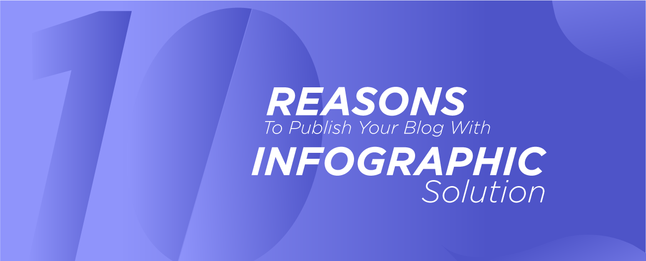 10 Reasons To Publish Your Blog With Infograph Solution